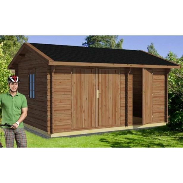 359cefa2baf LILLEVILLA 12 hytte 12,3 m² - Køb Hytter & pavilloner online   SILVAN