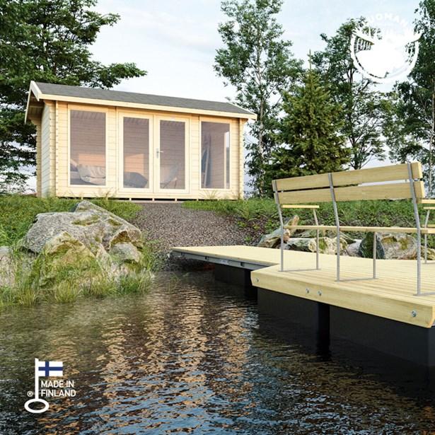 31686049a3d LILLEVILLA 342 hytte 12 m² - Køb Hytter & pavilloner online   SILVAN