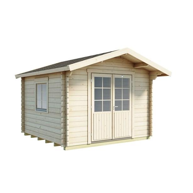 2280ce50494 LILLEVILLA 510-1 hytte 9 m² - Køb Hytter & pavilloner online   SILVAN