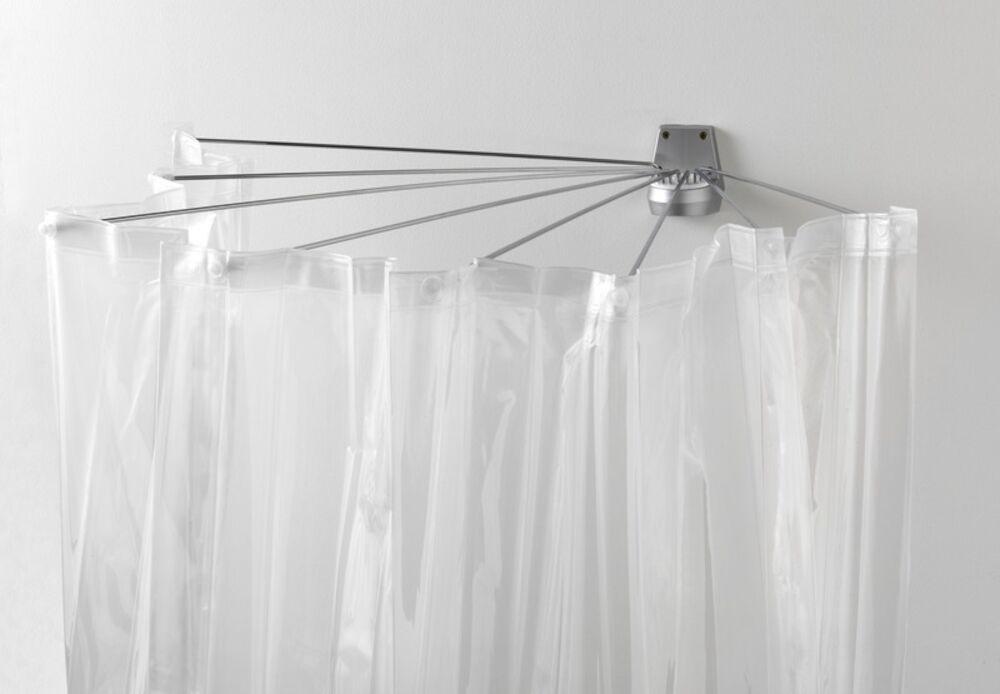 Badeforhæng Stang aquamod paraplystang m/forhæng - køb brusestænger & -forhæng online