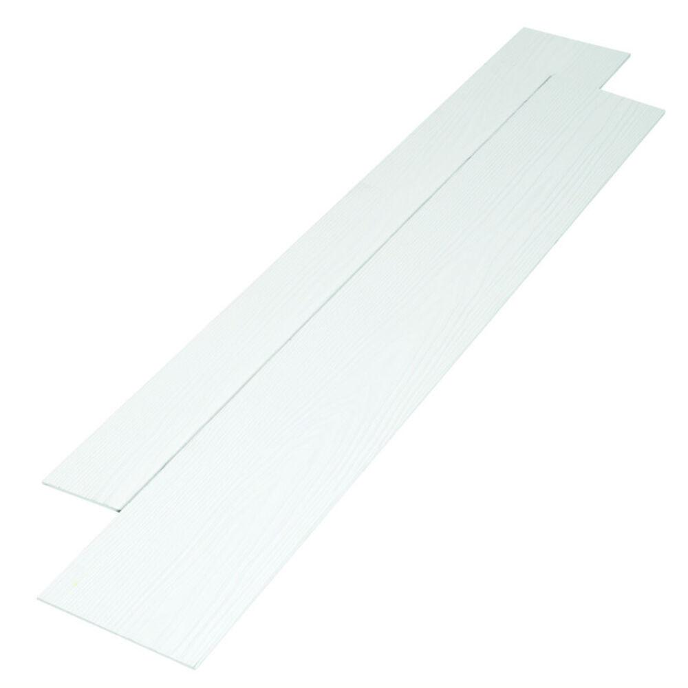 Forskellige NORDIC Fibercement facadeplade hvid - Køb Facadebeklædning online BF19
