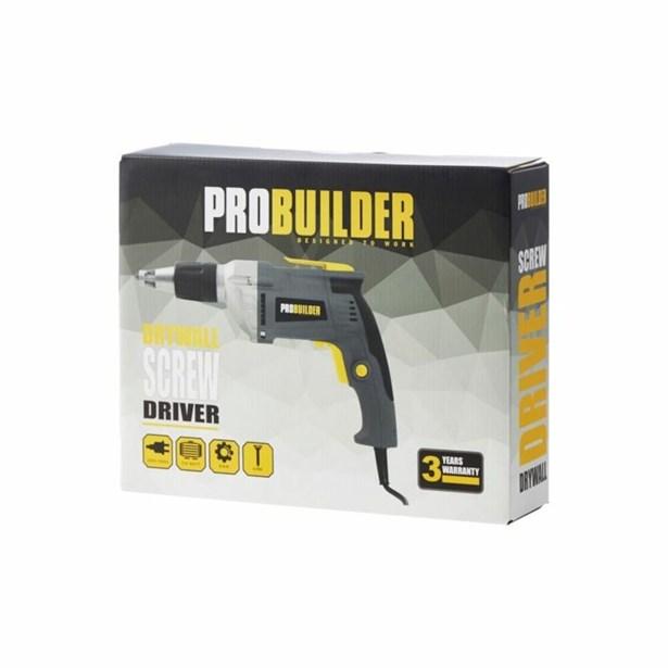 Super PROBUILDER Gipsskruemaskine 710W - Køb Bore- / skruemaskiner ME81