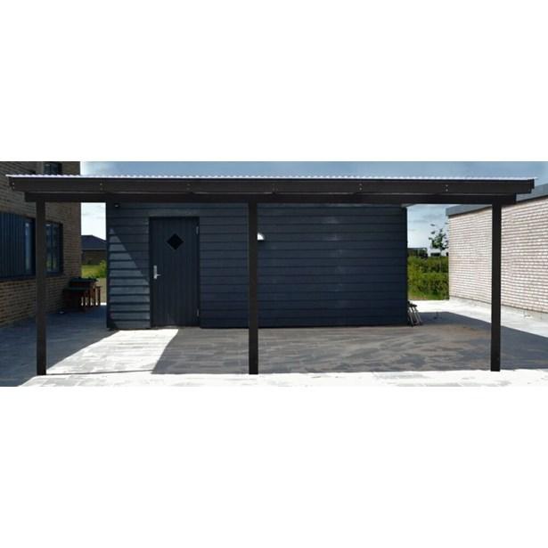 Utroligt Væghængt carport/terrasseoverdækning m/pvc tag - Køb Garager UH51