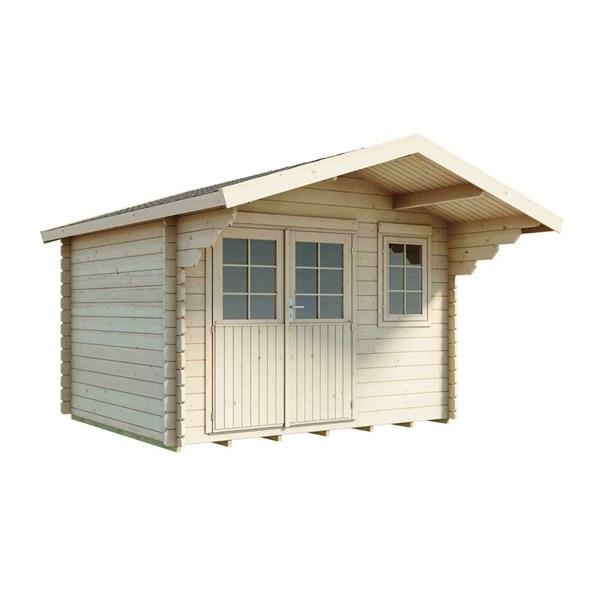 Fremragende LILLEVILLA 264-1 skur 8 m² - Køb Hytter & pavilloner online   SILVAN FM18